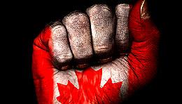 canadianflag-fist-istock_26